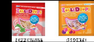 Zollidrops flavors
