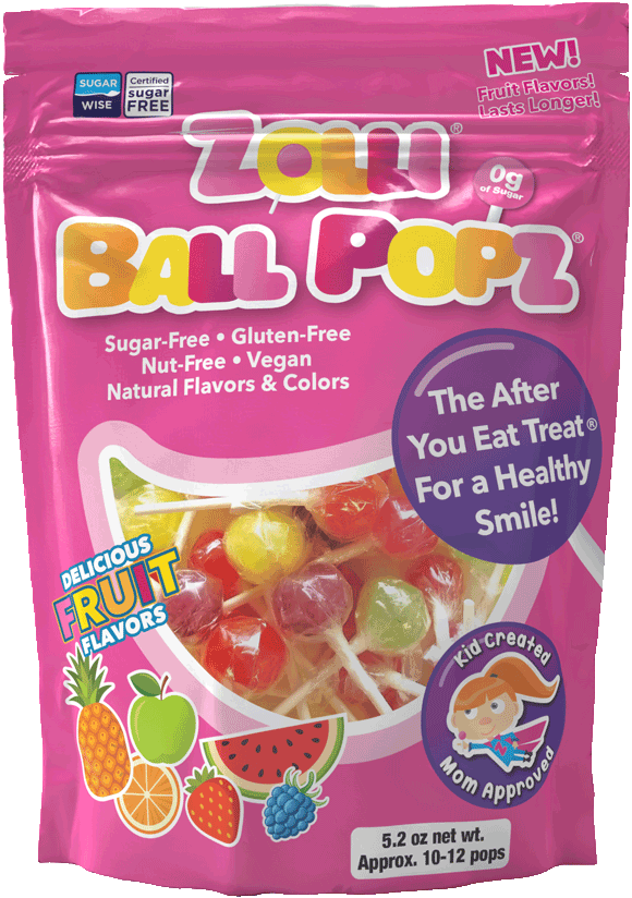 Zollipops - The Clean Teeth Candy