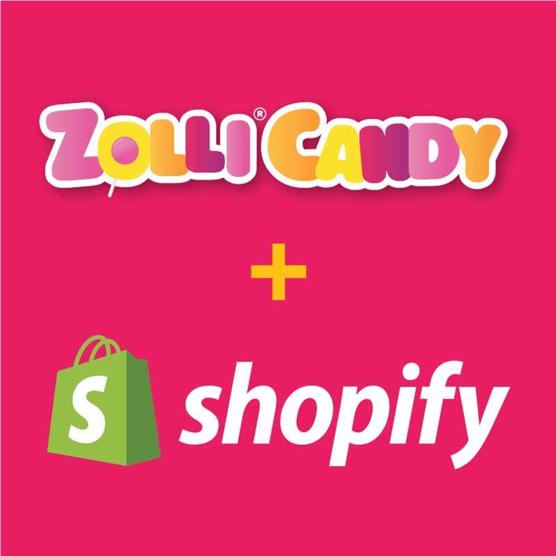 Zolli Candy + Shopify
