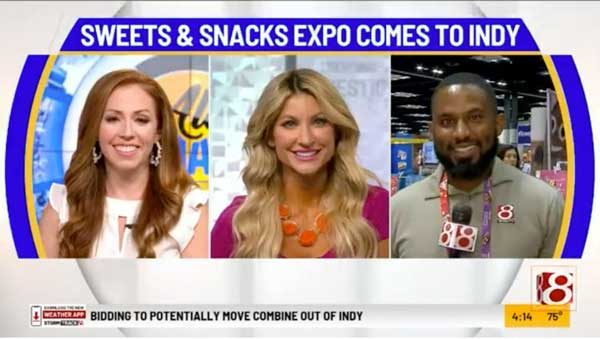 WISH-TV Sweet and Snacks Expo Indianapolis 2021