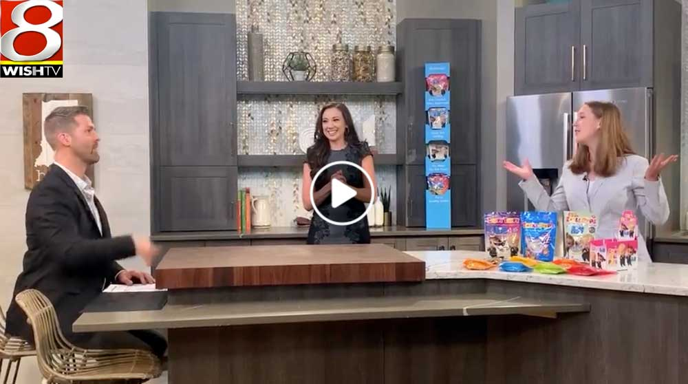 Zolli Candy partners with Boss Baby WISH-TV Indianapolis Sweet and Snack Expo 2021